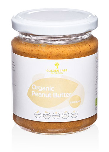 Arašidovo maslo Golden Tree Organic